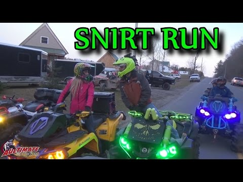 SNIRT RUN PT 1...GETTING THE GROUP BACK TOGETHER AFTER A LONG WEEKEND
