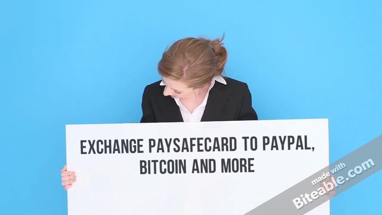 Paysafecard To Bitcoin