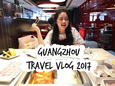 Guangzhou Travel Vlog 2017 | 我的广州日记!!!