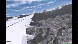 FSX: Take off Austria - Innsbruck [HD]