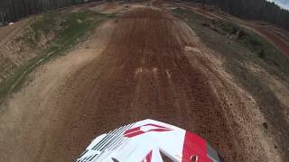 Supercross track at Durhamtown plantation.