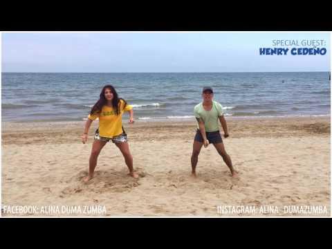 HASTA QUE SE SAQUE EL MALECON(remix ft Farruko) Zumba fitness choreography by Alina Duma