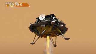 video: China begins to search for ice on Mars after its lander joins America on the Red Planet
