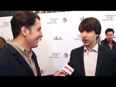 "Demetri Martin at the ""Dean"" Tribeca Film Festival Premiere with Arthur Kade"