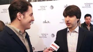 "Demetri Martin at the ""Dean"" Tribeca Film Festival Premiere with Arthur Kade"