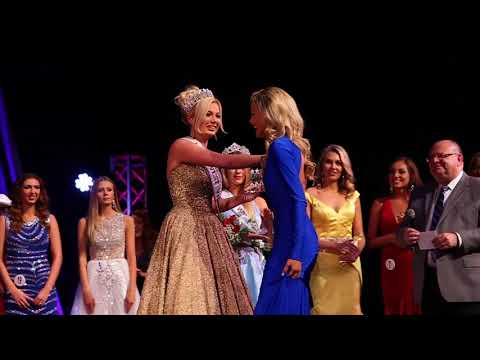 Crowning of Miss West Virginia USA 2018 Casey Lassiter, 21 of Spencer