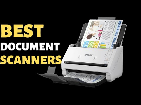 5 Best Document Scanners To Buy