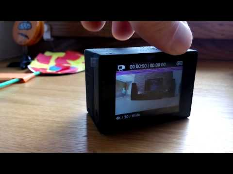 GoPro HERO4  Problem no SD Card