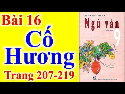 Ngữ Văn Lớp 9 Bài 16 – Cố Hương – Trang 207 - 219