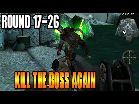 "COD: Black Ops Zombies Android Gameplay - CALL OF THE DEAD""KILL THE BOSS AGAIN!"" - 1080p"