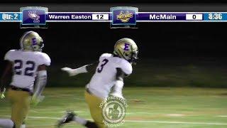 Warren Easton CB Chester Kimbrough vs. McMain -