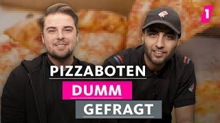 Pizzaboten snacken ständig Pizza! | 1LIVE Dumm Gefragt