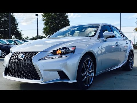2016 Lexus IS350 F Sport Full Review, Start Up, Exhaust