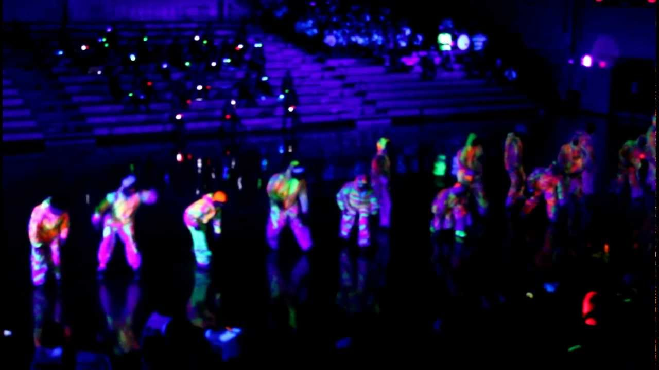 Chs Glow In The Dark Pep Rally Dance Youtube