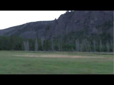 Yellowstone National Park -- Fly Fishing Madison Campground