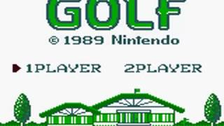 Golf (Game Boy Version): USA Course Playthrough