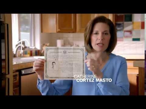 Catherine Cortez Masto for U.S. Senate TV Ad: Grandfather
