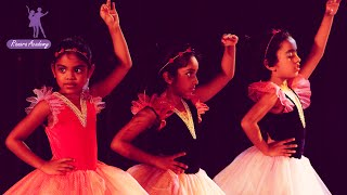 Ballet dance performance by children at ranara academy