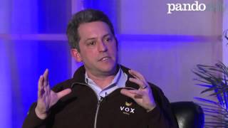 "PandoMonthly: Jim Bankoff wants to ""hit you in the face with money"""