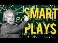 CS:GO - SMARTEST PRO PLAYS ft. Stewie2k, S1mple, Snax & more! (2017)