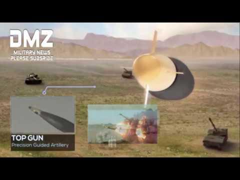 Top Gun Israel Precision Guided Munition For Artillery