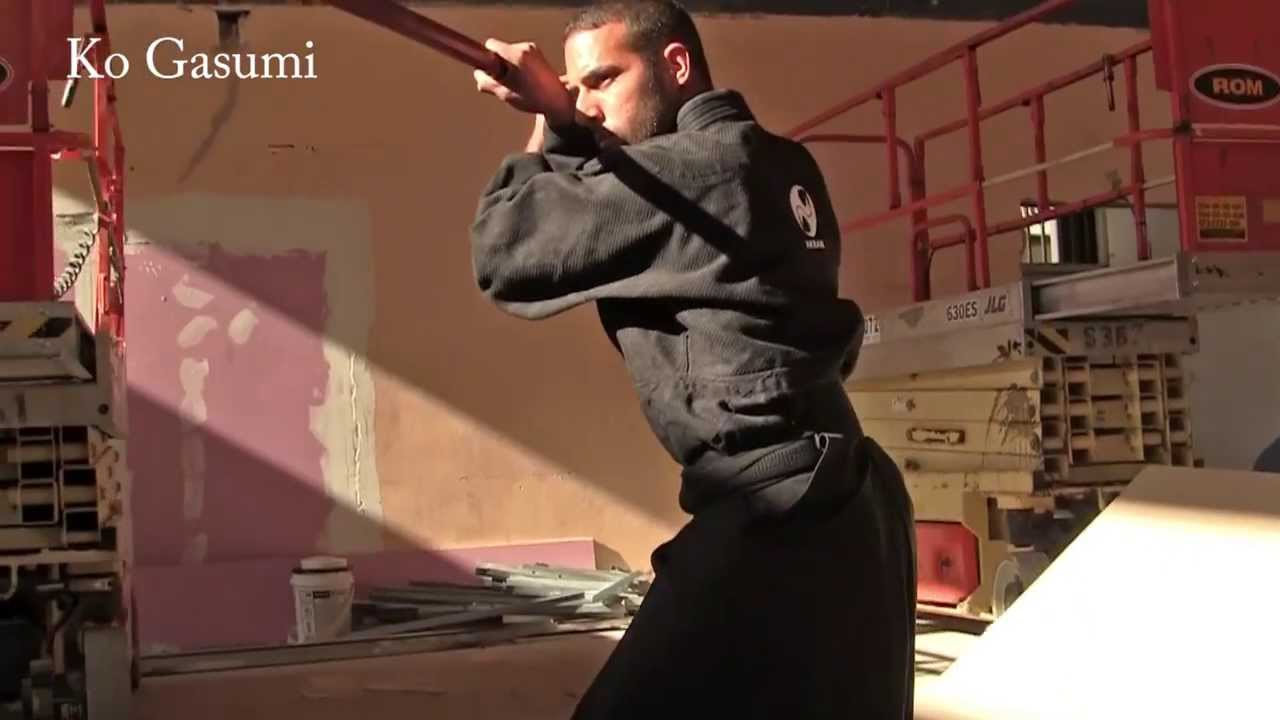 Two Samurai Stance Sword 4