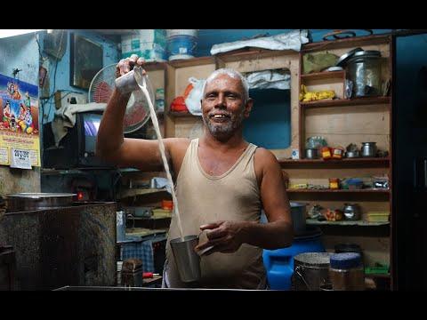 The art of making chai tea in Tamil Nadu