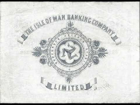Paper money of the Isle of man - Manx Pound - banknotes - banknotes
