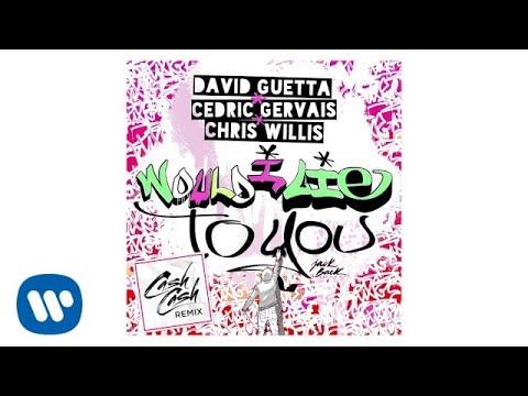 David Guetta - Would I Lie To You (Cash Cash Remix)