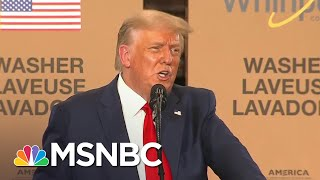 Trump Suggests COVID-19 Vaccine Will Be Ready Before Election Day | The 11th Hour | MSNBC