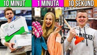 10 SEKUND vs MINUTA vs 10 MINUT, żeby DOSTAĆ WSZYSTKO ZA DARMO!