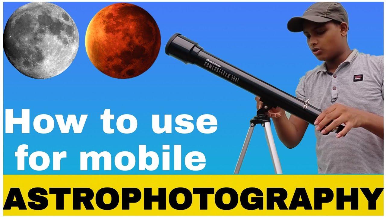 How to use Celestron Powerseeker 50AZ | Mobile mount | #astrophotography