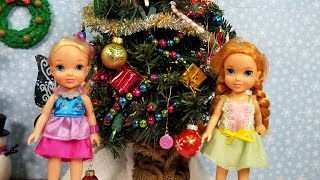 CHRISTMAS 2019 ! Elsa & Anna toddlers - gifts - Santa wish list - tree decorating - singing