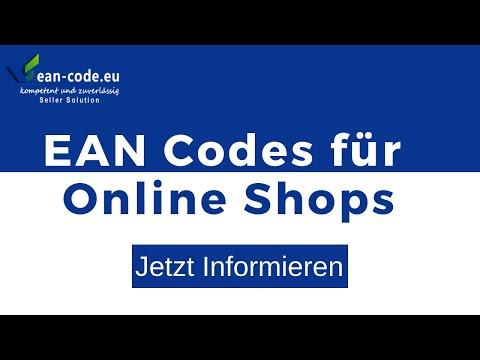 EAN Codes Für Online Shops -Günstig Kaufen