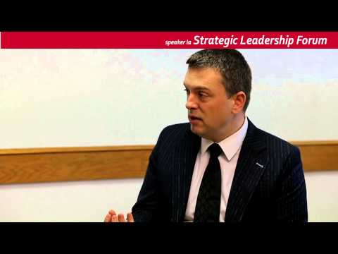 EXEC EDU Alin Gherman - Ce pierzi daca nu vii la Strategic Leadership Forum