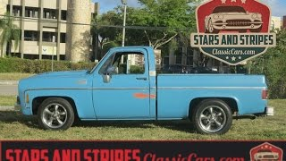 1978 Chevrolet C10 Short Bed Shop Truck