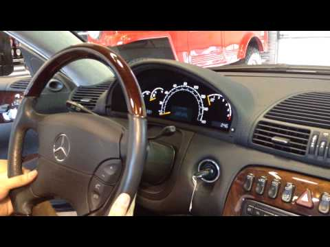 Test Drive: 2002 Mercedes Benz CL600 SOLD at the Sun Valley Auto Club
