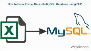 видео import excel mysql