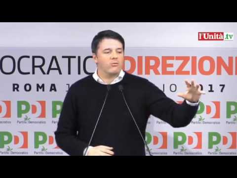 Intervento di Matteo Renzi - Direzione nazionale del 13 febbraio 2017