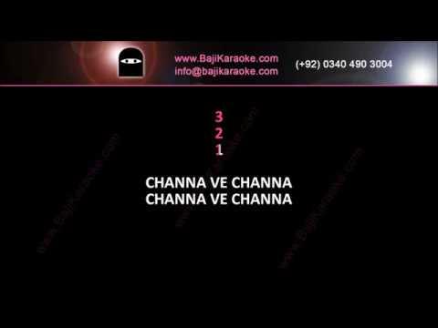 Channa ve channa - Video Karaoke - Rahim Shah - by Baji Karaoke