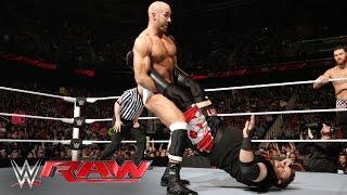 Cesaro & The Miz vs. Sami Zayn & Kevin Owens: Raw, May 16, 2016
