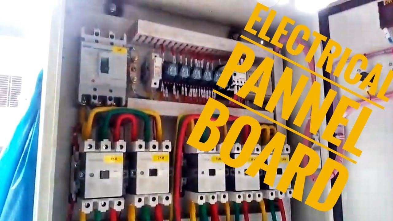 small resolution of panel board wiring connection wiring diagram go house wiring panel board
