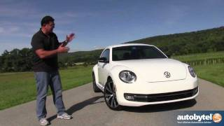 2012 Volkswagen Beetle Test Drive & Car Review