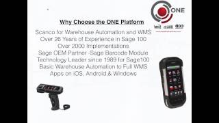 Advanced WMS and Manufacturing for Sage 100: Meet ONE Software