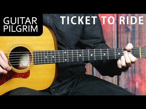 """The Beatles """"TICKET TO RIDE"""" Guitar Lesson"""