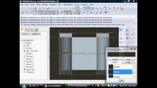 DESIGNING FORK, END, BUSH, PIN AND ASSEMBLING THE PARTS OF KNUCKLE JOINT IN PRO-E SOFTWARE