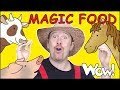 Magic Food Animal Farm Story with Steve and Maggie | Learning Speaking Wow English TV Free