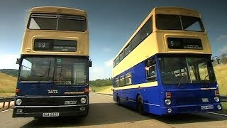 Drifting Double Decker Buses Fifth Gear смотреть