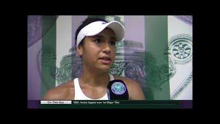 Heather Watson d. Anastasija Sevastova - Wimbledon 2017 R2