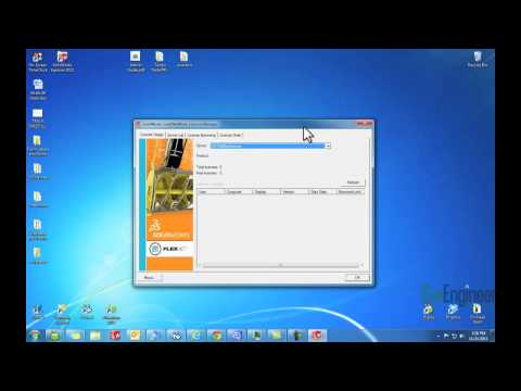 SOLIDWORKS – Network License Pointing to a Server